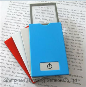 Wholesale LED Magnifier Card with Light for Reading (HW-212N) pictures & photos