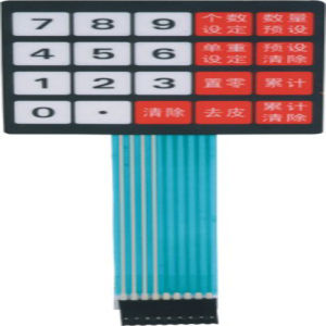 Customize Membrane Switch Electronic Scales