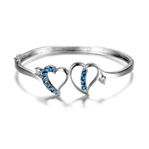 New Type Fashion Costume Brass Jewelry Halo Heart Bracelet Bangle