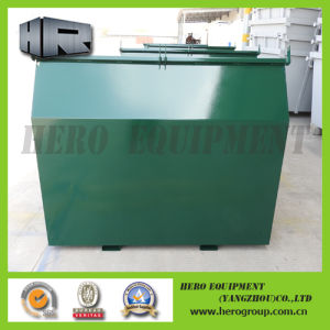 3m Square Front Load Bin with Spray Paint pictures & photos