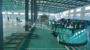 Automotive Front Windshield Glass Machine Line pictures & photos