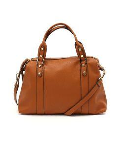 New Arrival Ladies PU Leather Bowling Shoulder Handbag pictures & photos