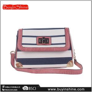 Fashion New Design Striped Chain Shoulder Bag