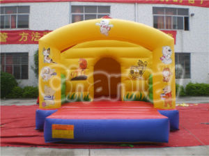 Yellow Animal Yard Inflatable Bouncer with Arch (CHB133) pictures & photos
