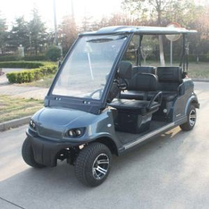 Battery Operated Utility Cart 4 Seats Electric Household Car (DG-LSV4) pictures & photos