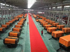 Price of Portable Screw Air Compressor pictures & photos