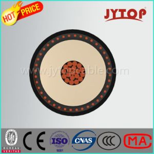 N2xs2y Copper Cable, 20.3/35 Kv XLPE Insulated, Flat Steel Wire Armoured, Single-Core Cable with Copper Conductor pictures & photos