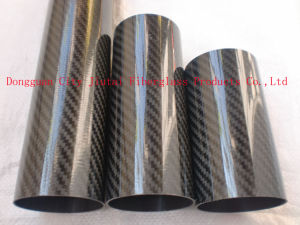 Factory Direct Sale Carbon Fiber Round Tube by Roll Wrapped pictures & photos