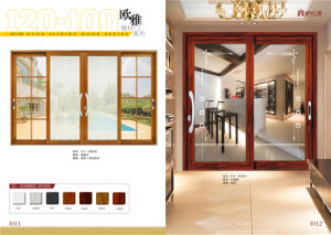 Latest Design Double Glazing Aluminum Sliding Window for Bedroom pictures & photos