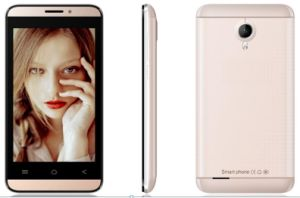 Smart Mobile Phone Android4.4 Quad-Core 3G Phone with Dual SIM pictures & photos