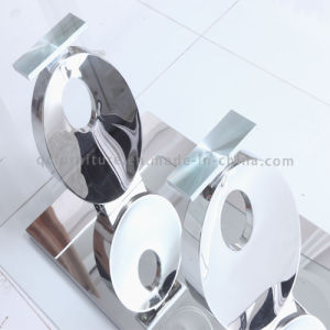 12mm Tempered Glass Coffee Table with Stainless Steel Base pictures & photos