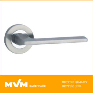 Stainless Steel Door Handle on Rose (S1107) pictures & photos