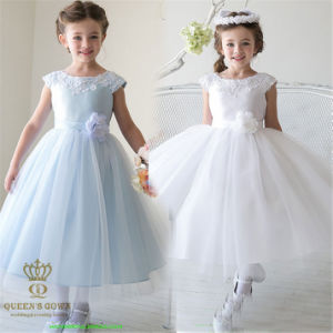 The New Bride Wedding Cute Flower Girl Dress, Tailored pictures & photos