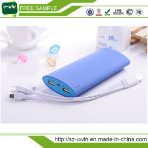 New Business Gift 10000mAh Dual USB Power Bank for Laptop pictures & photos