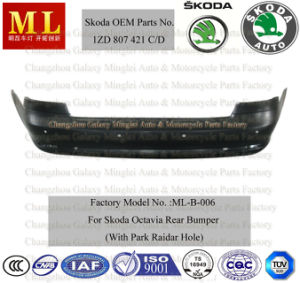 Rear Bumper for Skoda Octavia with Park Raidar Hole From 2009-2ND Generation (OEM auto parts No.: 1ZD 807 421C/D) pictures & photos