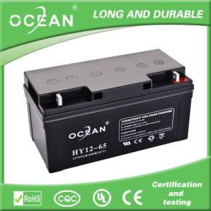 Manufacturer Deep Cycle Battery 12V 65ah 100ah 120ah UPS Battery