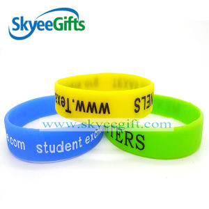 15 Years Experiences Custom Silicon Wristband pictures & photos