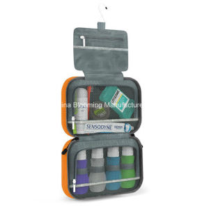 Designer Nylon Hanging Travel Toilet Pouch Cosmetic Wash Toiletry Bag pictures & photos