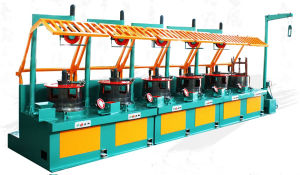 High Speed Pulley Type Wire Drawing Machines (LWX1-6/550) pictures & photos
