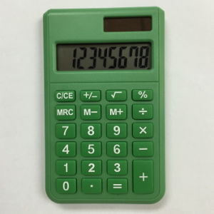 8 Digits Dual Power Pocket Calculator pictures & photos