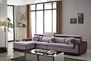 Modern Living Room Fabric Design Hemp Sofa pictures & photos