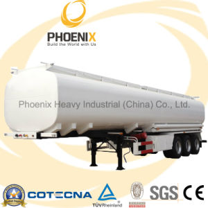 Three Axles 60000L 50 Tons Semitrailer Oil Tank pictures & photos