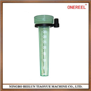 High Quality Green Cheap Plastic Rain Gauge pictures & photos