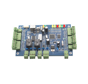 Multifunction Two-Door Access Control Board with TCP/IP RS232 RS485 pictures & photos