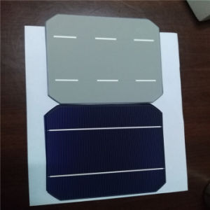 156*156 Monocrystalline Solar Cells of Taiwan with Hight Quality and Reasonable Price pictures & photos