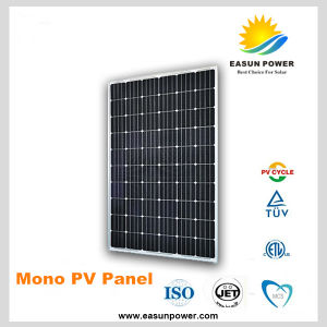 125W Mono Solar Panel for Solar Power System