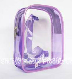 PVC Cosmetic Packing Bag Zipper Bag pictures & photos
