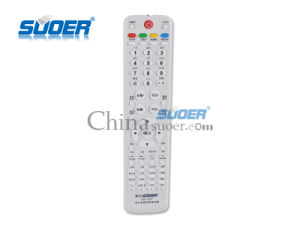 Suoer Factory Price Universal LCD TV Remote Control LCD TV Remote Control TV Remote Control with CE&RoHS (HR-207) pictures & photos