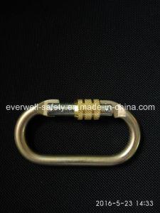 Threaded Lock Safety Hook Spring Carabiner (C300)