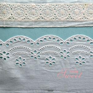Multi Material Lace Fabric Trim pictures & photos