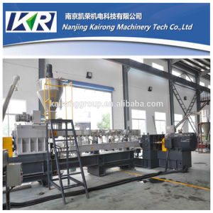 Tse-65 Waste Plastic Recycling Granules Pelletizer Extruder Price pictures & photos