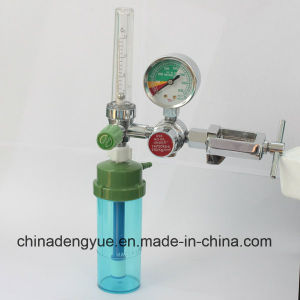 Medical Oxygen Regulator with Pin Index Yoke Connector pictures & photos