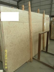 Jura Beige Marble Slab for Countertops and Building Materials