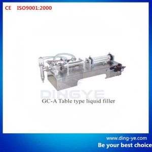 Table Type Liquid Filler Gc-a pictures & photos