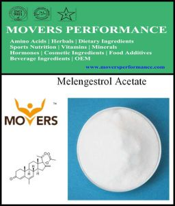 High Quality Melengestrol Acetate 99% Steroid 2919-66-6 pictures & photos