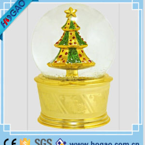 Golden Snow Globe for Home Decoration pictures & photos