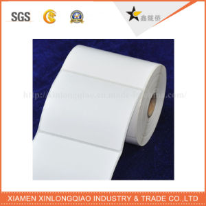 White Vinyl Paper Printer Printed Service Label Printing Adhesive Sticker pictures & photos