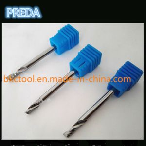 Tungsten Carbide Single Flute End Mill Acrylic pictures & photos