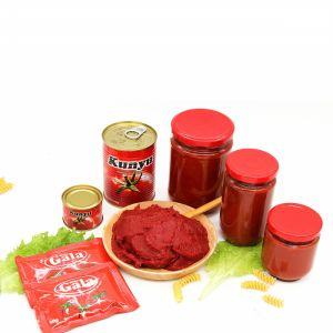 Glass Jar Tomato Paste with High Quality pictures & photos