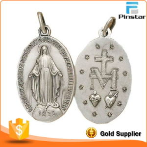 Wholesale Custom Religious Item Oval Shape Miraculous Medal pictures & photos