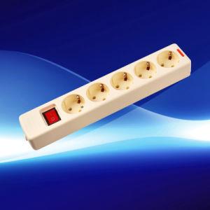 European Extension Socket (YW5010-K-B) pictures & photos