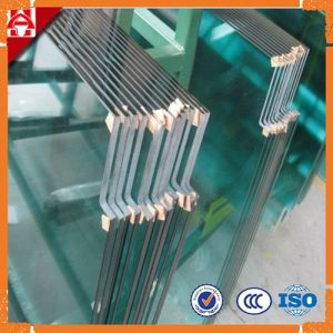 Customized 5mm-19mm Flat Clear Beveled Toughened Glass with Special Chamfer Design