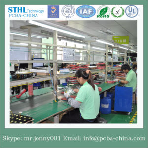 Shenzhen Manufacturer Immersion Gold PCB with Gold Finger/Multilayer PCB pictures & photos