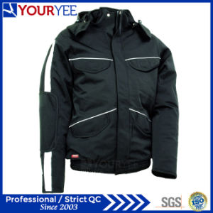 Popular Affordable Warm Waterproof Winter Jacket with Detachable Hood (YFS115) pictures & photos