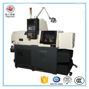 China Double Spindles 5 Axis BS205 CNC Lathe Swiss Type pictures & photos