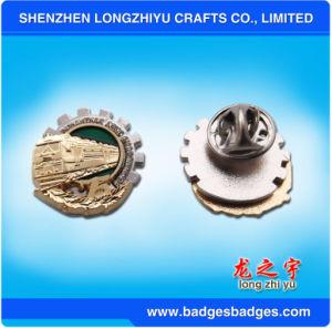Custom Masonic Lapel Pin Gear Badge pictures & photos